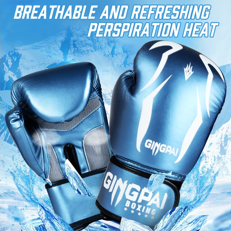 VIP Vital Impact Protection Acer PU Boxing Gloves MMA Martial Arts Fitness Beginner Training Gloves Mitts