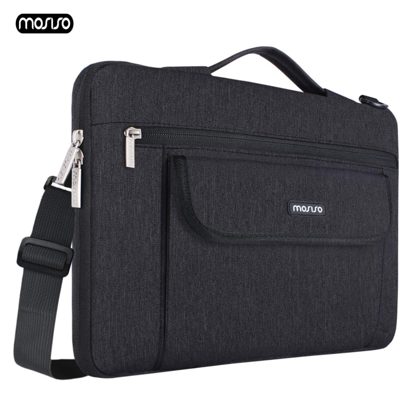 Fklee Office Bag Mens Nylon Laptop Bag Waterproof Notebook Shoulder Messenger Bag Light Business Briefcase Travel and Luggage Bag Suitable for Everyday use Color : Blue
