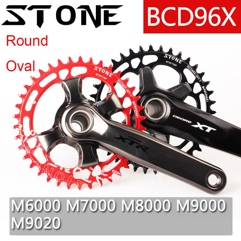 40T 42T 44T 46T 48T 50T 52T Round Narrow Wide Single Chainwheel Bicycle Crank for MTB Pathpark 104BCD Bicycle Chainring
