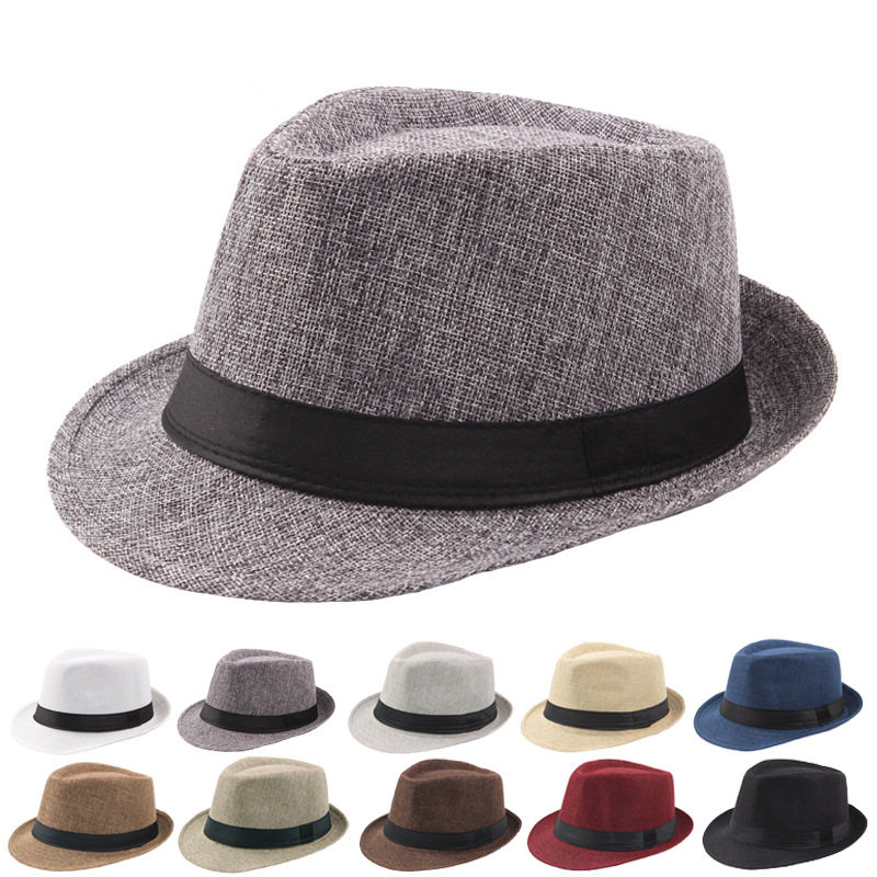 DOSOMI Fashion Women Men 100/% Wool Fedora hat Felt Panama Elegant Ladies hat Floppy Derby Trilby Cap