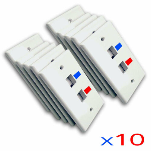 Cat.5E Tool Less Keystone Jack Gray GOWOS 10 Pack