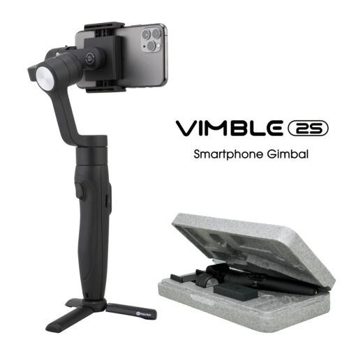 Feiyu Vimble 2S 3-Axis Stabilized Handheld Gimbal for Smartphone Build-in 18CM Extension Rod with mirophonne
