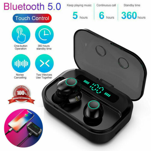 2019 Bluetooth 5 0 Headset Tws Wireless Earphones Mini Earbuds Stereo Headphones Buy Products Online With Ubuy Maldives In Affordable Prices 362746132843