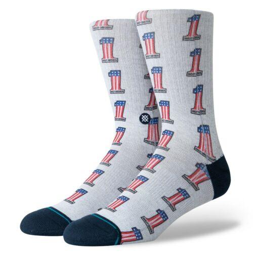 Navy BNWT Stance NEW Men/'s Harley Badge Socks