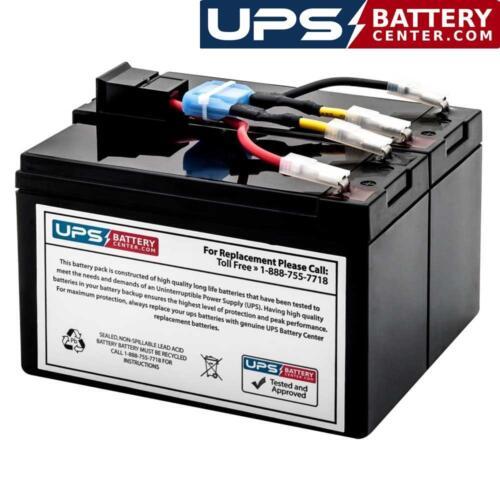SMT1000RM2U SMT1000RM2UTW SMC1500I-2U SMC1500-2U UPSBatteryCenter Compatible Replacement for SMT1000RMI2U APCRBC132 Battery Pack