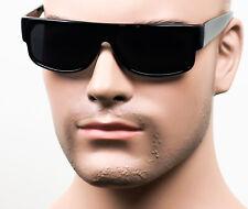 Sick Cholo Wrap Sunglasses Super Dark OG LOC Gangster Style Flat Black//Matte CB9