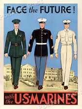 """/""""Enlist in the Air Service/"""" 1917 WWI Vintage Style War Poster 18x24"""
