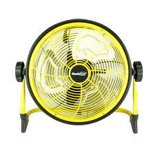 Geek Aire CF3 Outdoor Floor Fan 10 Inch Cordless Variable Speed Rechargeable
