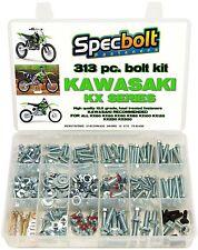 UFO KA02740001 Replacement Plastic for Kawasaki Rear MUD Plate KX125-250