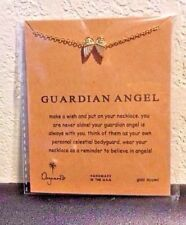 ALCHEMY HAMINGJA NORSE GUARDIAN ANGEL RAVEN PENDANT Swarovski Heart FREE BOX