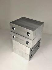 "6 x 2 x 1.5 Machined Aluminum Vise Soft Jaws For Kurt 6/"" Vises 6x2x1.5 FREE SHIP"