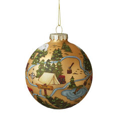 """by Midwest CBK CHEF Cooking Wooden Christmas Tree Ornament 3.5/"""" Tall"""