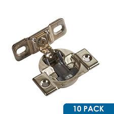 "50 Pack Blum 5//8/"" Overlay Edge Mounting Plate 130.1100.26 Compact 33 Hinge"
