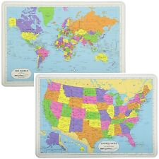 Education Painless Learning Placemats Set of 4 Multiplication Addition subtra...