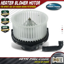 cciyu HVAC Heater Blower Motor with Wheel Fan Cage 3010115 Air Conditioning AC Blower Motor fit for 1991-2002 Ford Escort //1997-1999 Mercury Tracer