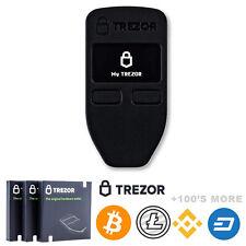 Bitcoin ProtectingCoin Case // Skin for Trezor Model T Hardware Wallet BLACK