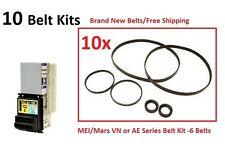 MEI Mars VN 2501 Bill Validator Rebuilt New Belts! Snack Bezel