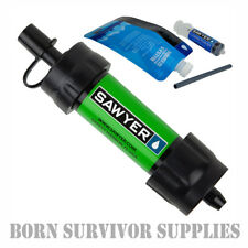 SAWYER 32OZ 1 LITRE 3 PACK SQUEEZE POUCHES WATER COLLECTION BUSHCRAFT SURVIVAL