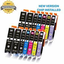 6 PK Ink Cartridge BCMY Combo Set for 280 XXL 281 XXL Pixma TS8120 TS8220 TS8100