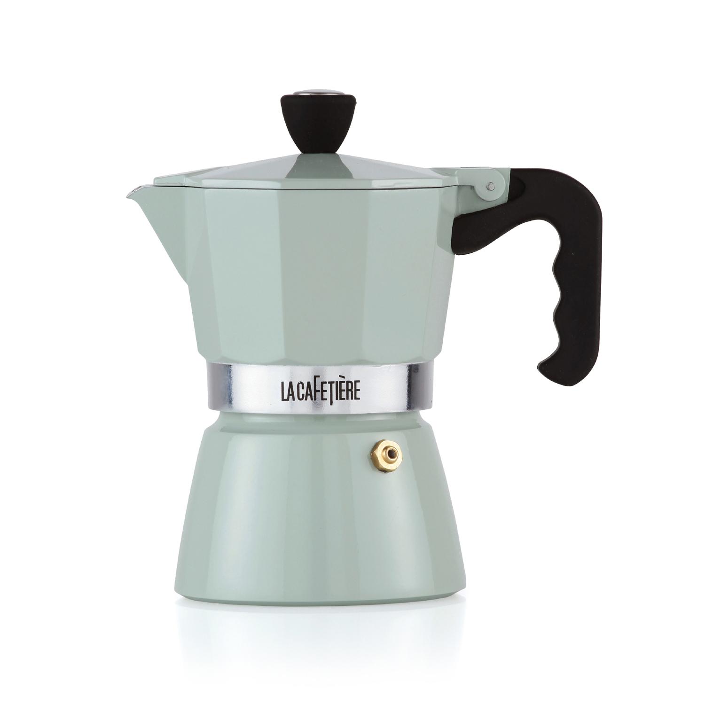 LA CAFETIERE Classic Warm Grey 3 Cup Espresso Maker 1 EA