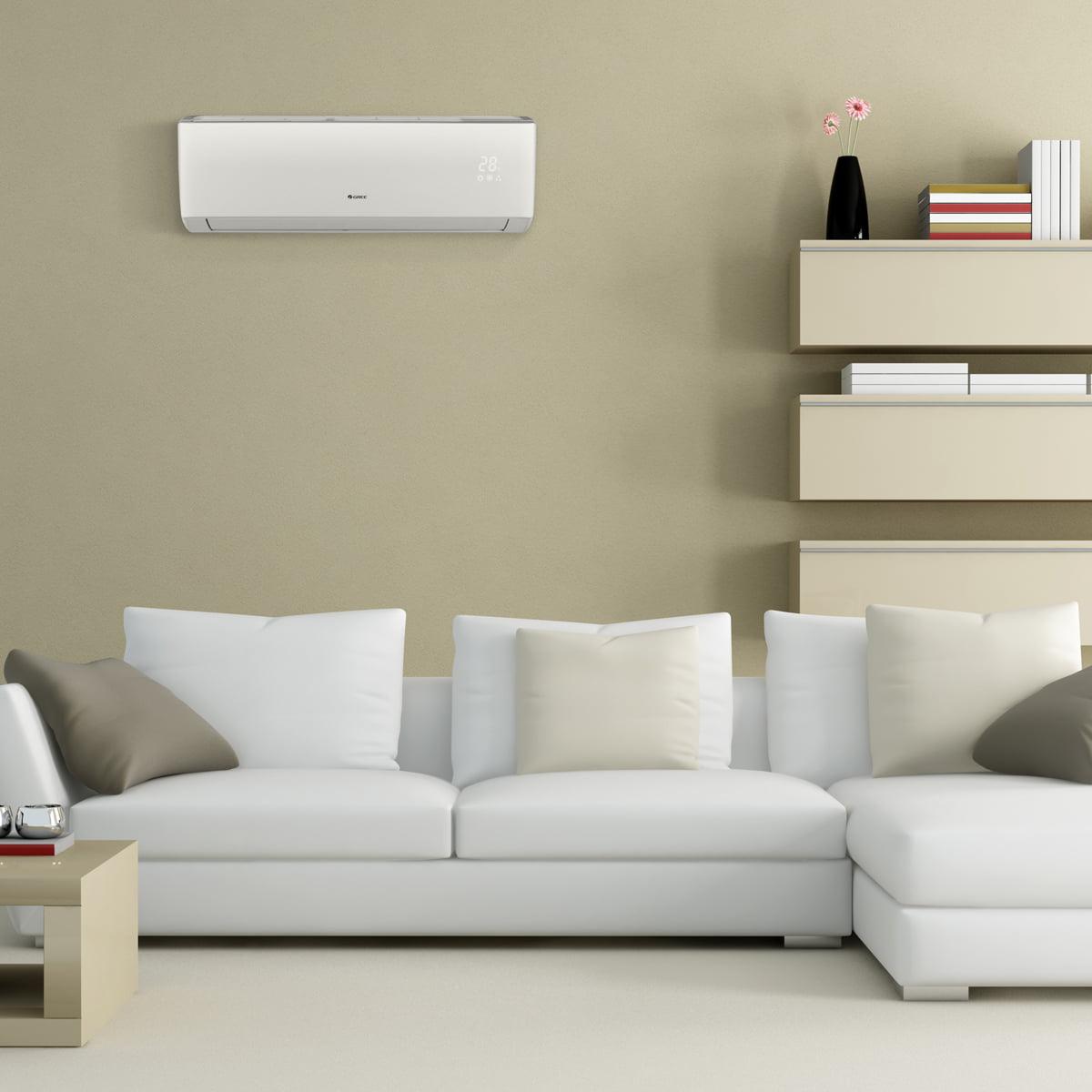 Dual-Zone Wall Mount Mini Split Air Conditioner Heat Pump 208-230V 9-18 GREE MULTI24CLIV202-24,000 BTU Multi21