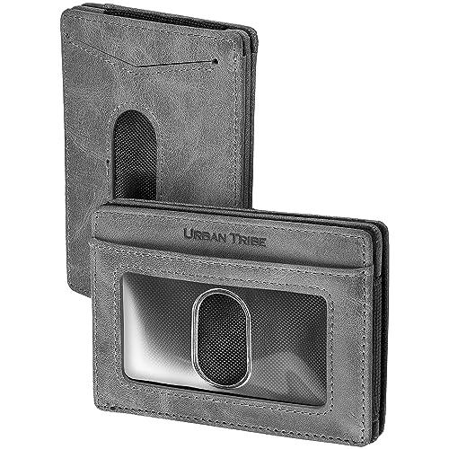 Sharkborough Classique Ávila Men/'s Classic Bifold Compact Wallet Slim Thin ID