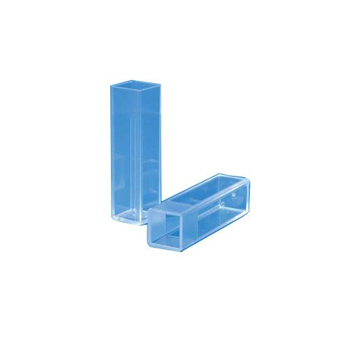 Square Lid Lee Plastic 4010-01 Disposable Universal Electroporation Cuvette with 1 mm White Cap Individually Wrapped Sterile Pack of 50
