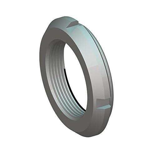 Replaces Standard PRL-09, Not Self-Locking UNS 1.767-18 Left-Hand Thread Whittet-Higgins NL-09 Threaded Shaft /& Bearing Locknut