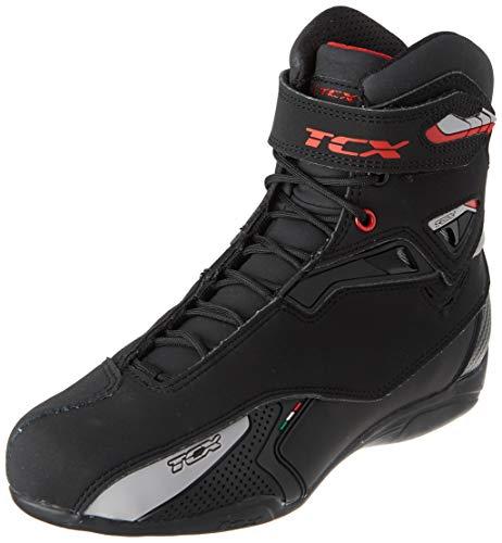 Black//Pink 39 TCX Rush 2 Ladies Short Motorcycle Boots