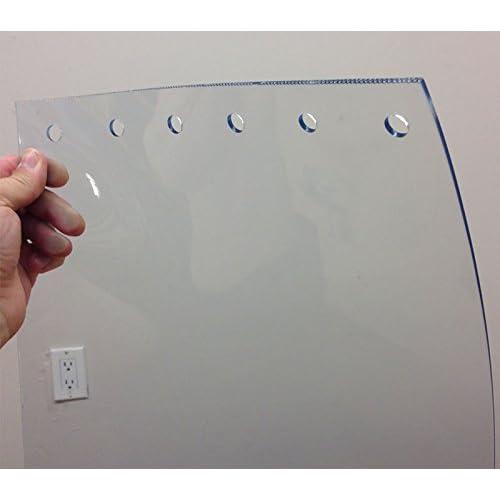 Vinyl Door Strips Strips 2mm Thickness VEVOR 27PCS PVC Strip Curtain 108in Height for Freezer Doors Warehouse Doors 9 ft Width x 108in Plastic Door Curtain with 5cm Overlap 9 ft