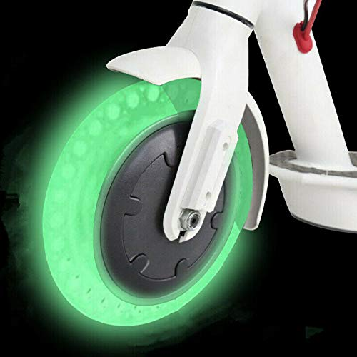 One Piece chuancheng Colorful Honeycomb Solid Tubeless Tyre 8.5inch Tire Replacement for Xiaomi Mijia M365 Scooter Explosion-Proof Wheel
