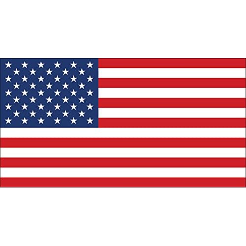 Buy Official Size American Flag Sticker America Us Usa Stars Stripes Patriotic Patriot Online In Maldives B006v4jnha