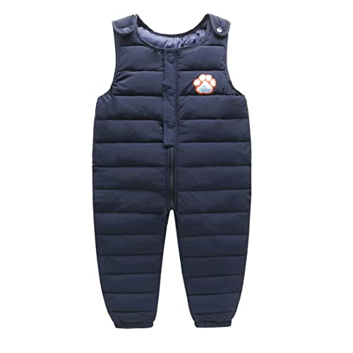 Tortor 1Bacha Baby Toddler Little Boys Winter Puffer Snow Bib Overall Pants