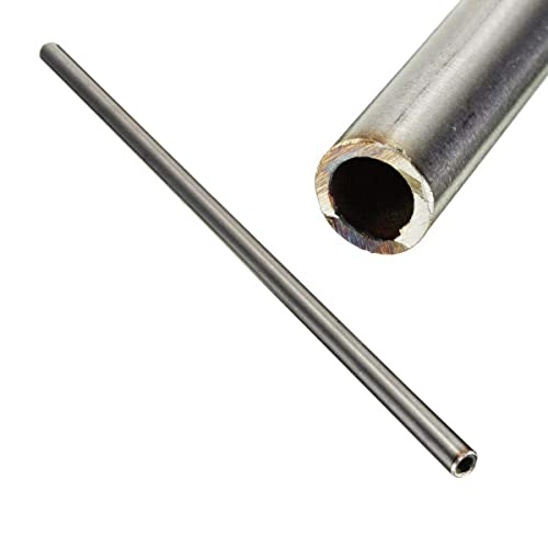 CynKen 1pcs OD 1.5mm x 1mm ID Stainless Pipe 304 Stainless Steel Capillary Tube Length 800mm
