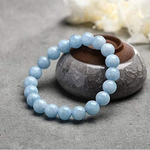 Studying Turquoise Mental Focus and Memory Tiger Eye Gemstone Beaded Stretch Bracelet Triple Stone Ultimate Student Bracelet Crystal Quartz Focus Bracelet Bracelet for Student 10mm