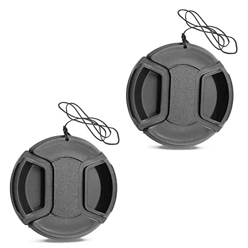+ Lens Cap Holder Nw Direct Microfiber Cleaning Cloth for Sony Alpha A6000 67mm Lens Cap Side Pinch