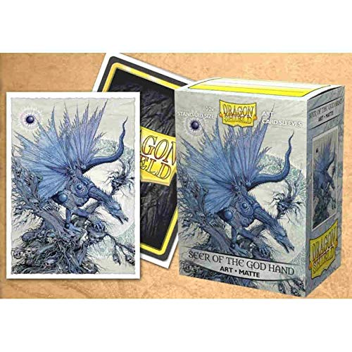 Dragon Shield Brushed Classic Art Coat of Arms Saturion Standard Size 100 ct Card Sleeves Individual Pack