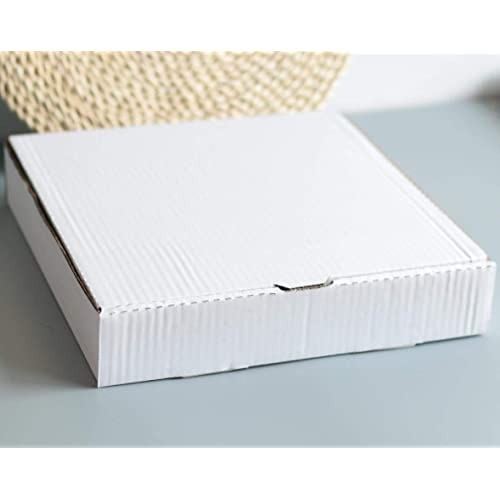 14 Length x 14 Width x 1.8 Depth 10 Pieces 14 Premium White Corrugated Pizza Box