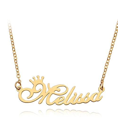 Moonlight Collections ABEL Necklace Custom Nameplate Personalized Jewelry
