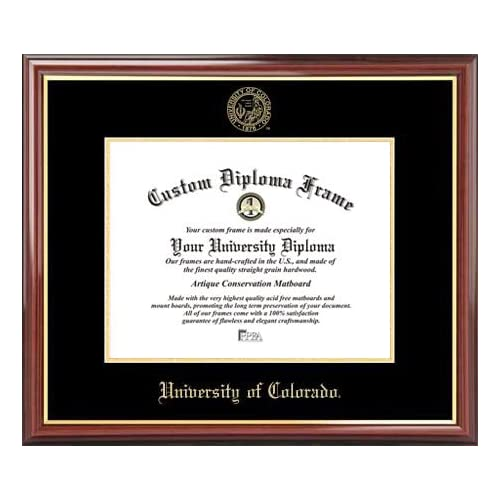Signature Announcements University-of-New-Mexico Doctorate Sculpted Foil Seal /& Name Graduation Diploma Frame 23 x 24 Cherry