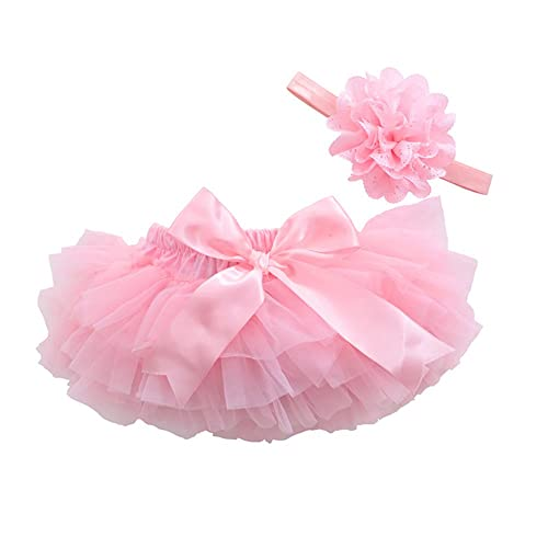 Xiao Yi Fei Infant Toddler Girls Baby Ruffled Panty Diaper Bloomer Cover-0 to 18 Month