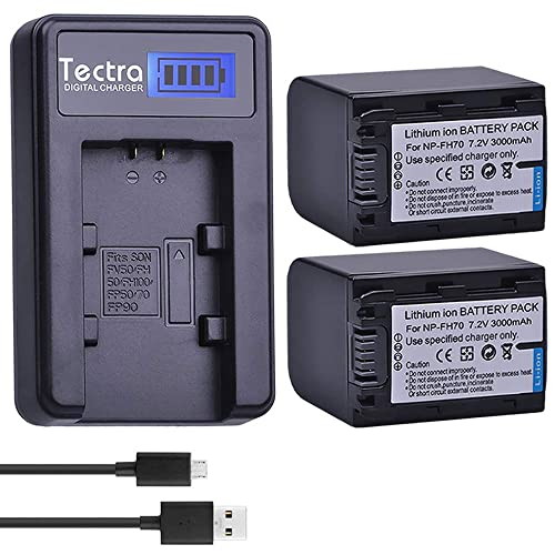 LETO AC Wall Battery Power Charger Adapter for Sony Camcorder HDR-SR10 D E HDR-SR11 E