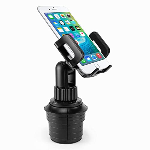 Galaxy S9//S8//A6//j7//J3 Cellet Car Rear-view Mirror Mount Phone Holder compatible for Samsung Note 9//8//5 Apple iPhone XS//Max//XR//X//8 LG V40 ThinQ,Stylo 4,3,2 Moto Z3,Z3 Play,Moto G6//G,e5 Play,E5 Plus PHMIRFA