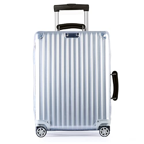 Getfitsoo Travel Waterproof and Dustproof Luggage Clear PVC Cover Suitcase Protective Cover
