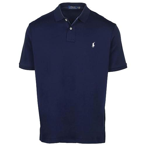 XL, Banana RALPH LAUREN Polo Men Medium Fit Interlock Polo Shirt