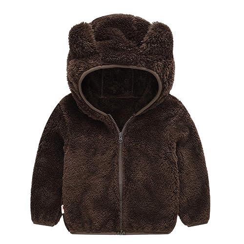 Sunbona Baby Girls Faux Fur Waistcoat Sleeveless Jacket Outwear Warm Thick Coat Clothes