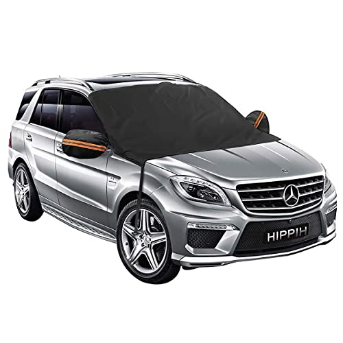 MaMartha Automotive Windshield Snow Covers Norwegian Flag Frost Guard Protector,Ice Cover,Car Sun Shade Waterproof Windshield Protector Car//Truck//Suv