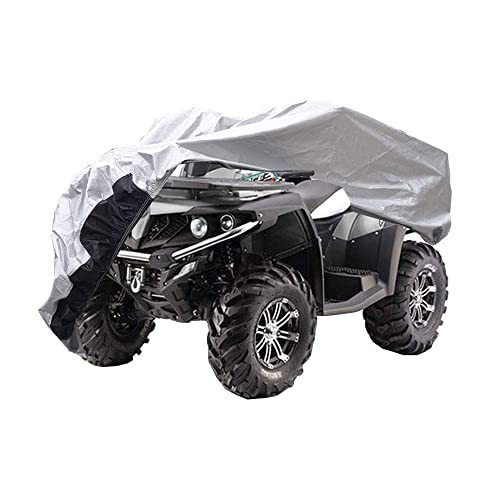 L 86x47x39 inches Durable Universal Waterproof Wind-Proof UV Protection LotFancy All Weather ATV Cover