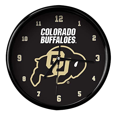 Multicolor The Memory Company NCAA University of Minnesota Official Black Rim Basic Clock One Size
