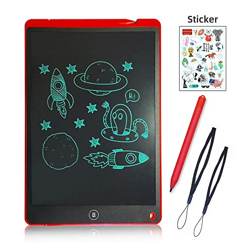 Color : Pink, Size : 8.5 inches Teerwere LCD Tablet Portable Electronic Writing Drawing Board Doodle Board Digital Graphics Tablet Kids Drawing Board LCD Writing Tablet LCD Writing Tablet Board